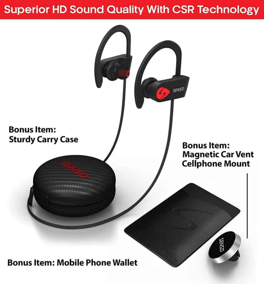 SENSO Bluetooth Headphones5