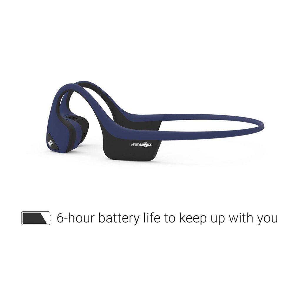 Aftershokz Trekz Air battery