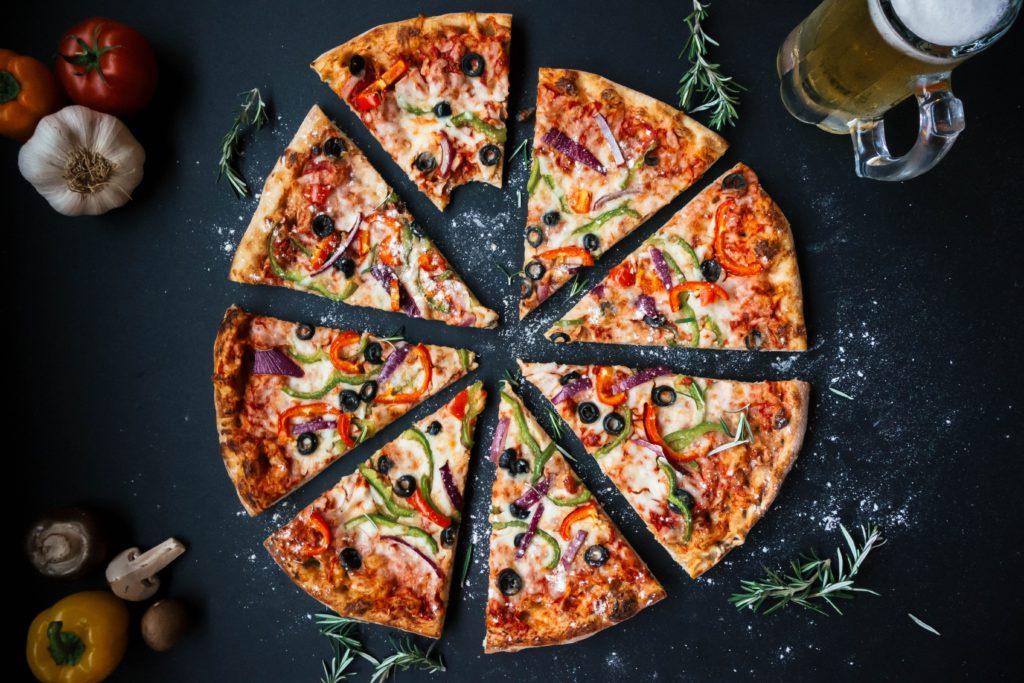 High Nutrient Diet Plan pizza