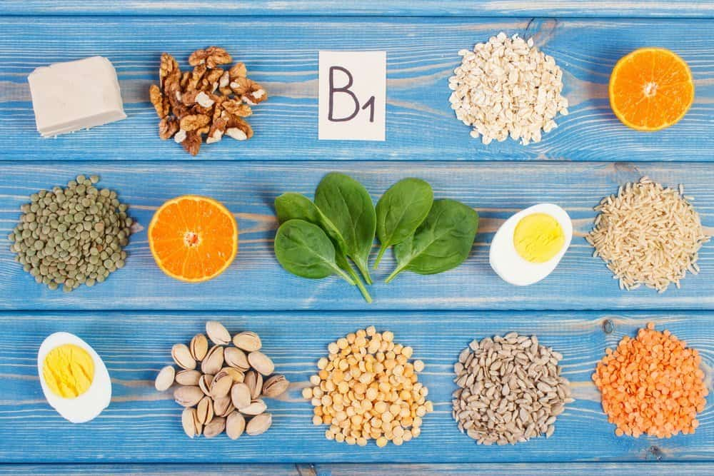 13 Vitamins from A to K vitamin B1