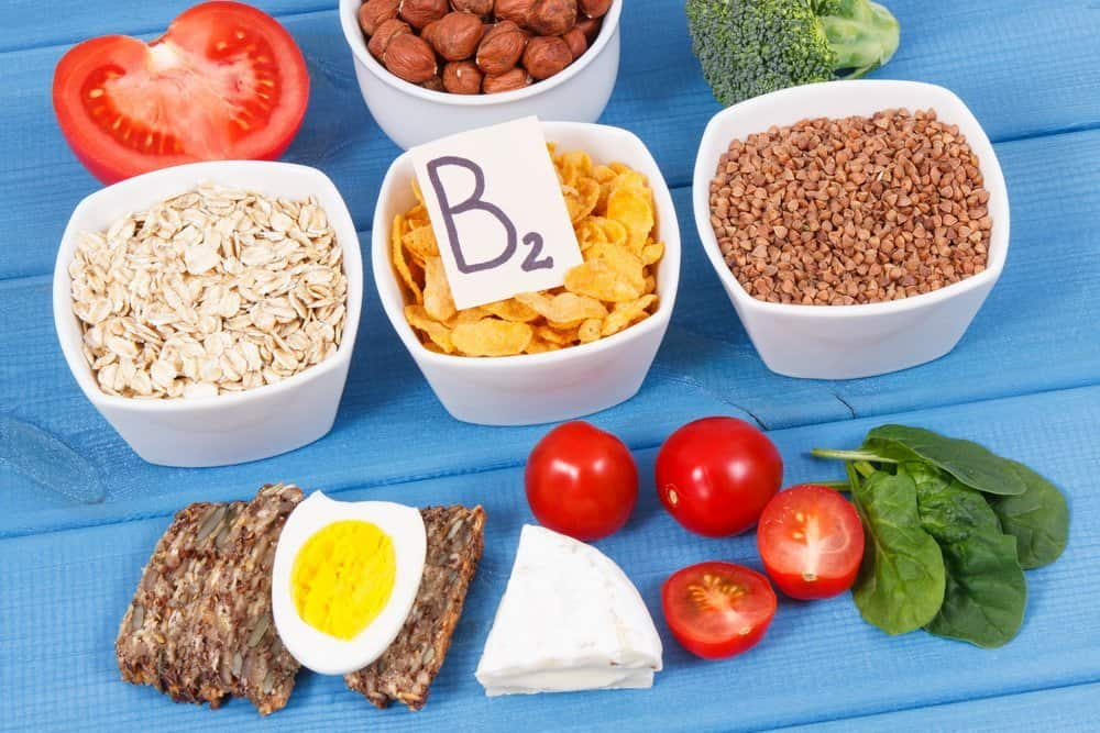 13 Vitamins from A to K vitamin B2