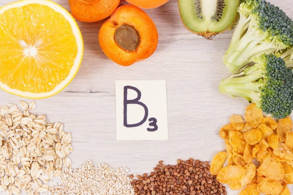 13 Vitamins from A to K Vitamin B3