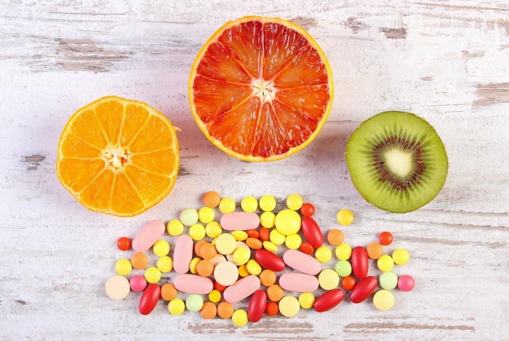 13 Vitamins from A to K 1