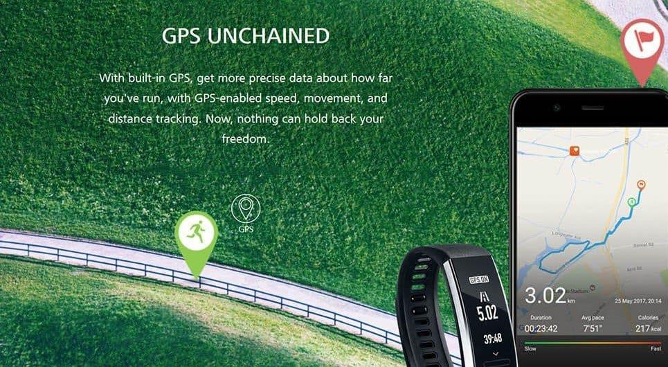 Huawei Band 2 Pro Review GPS