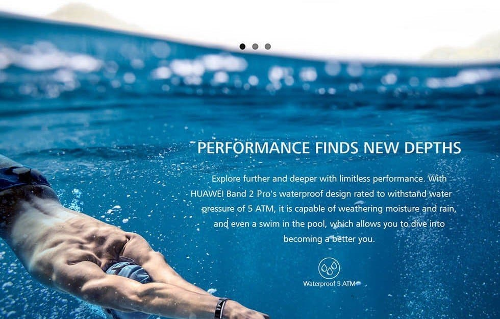 Huawei Band 2 Pro Review Swimming