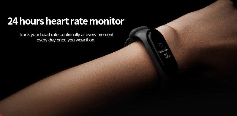 Xiaomi Mi Band 3 review HRM