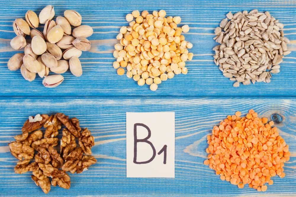 Products and ingredients containing vitamin B1