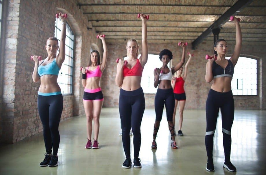 Group Training - Top 10 Fitness Trends of 2019