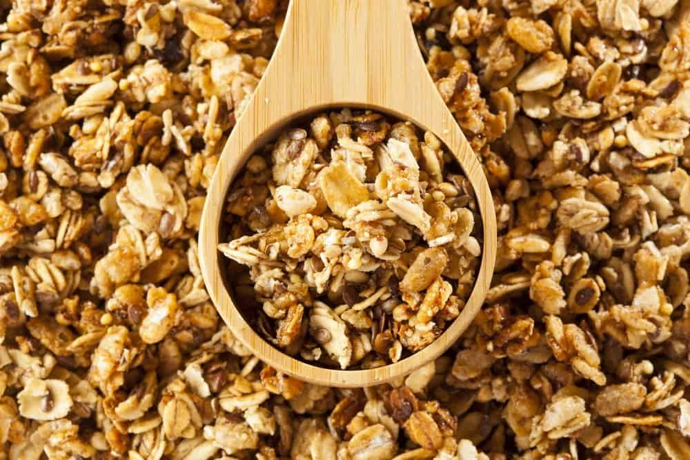 Organic Granola Cereal with oats, flax, almond, and sunflower seeds - The Metabolic Reset Diet Plan
