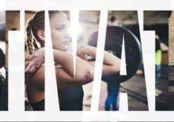 Collage of a fit woman lifting weights at the gym - How to Motivate Yourself for Workout