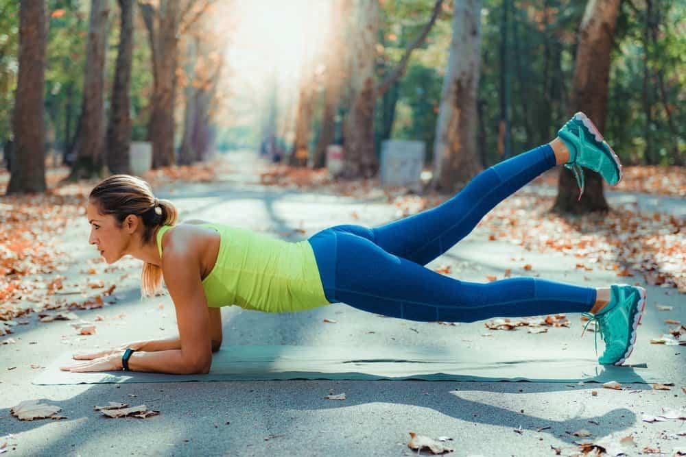 Women Exercising Outdoors, Park, Nature, High Intensity Interval Training - Low Intensity Interval Training Workout