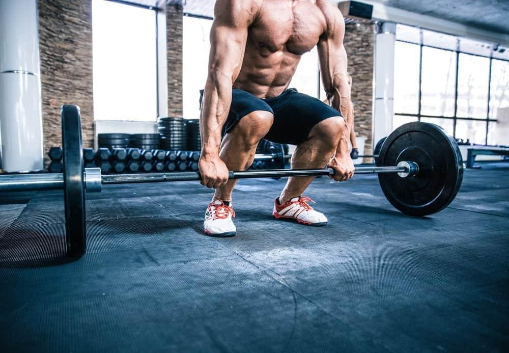 Closeup portrait of a muscular man workout - Best Strength Training Workout