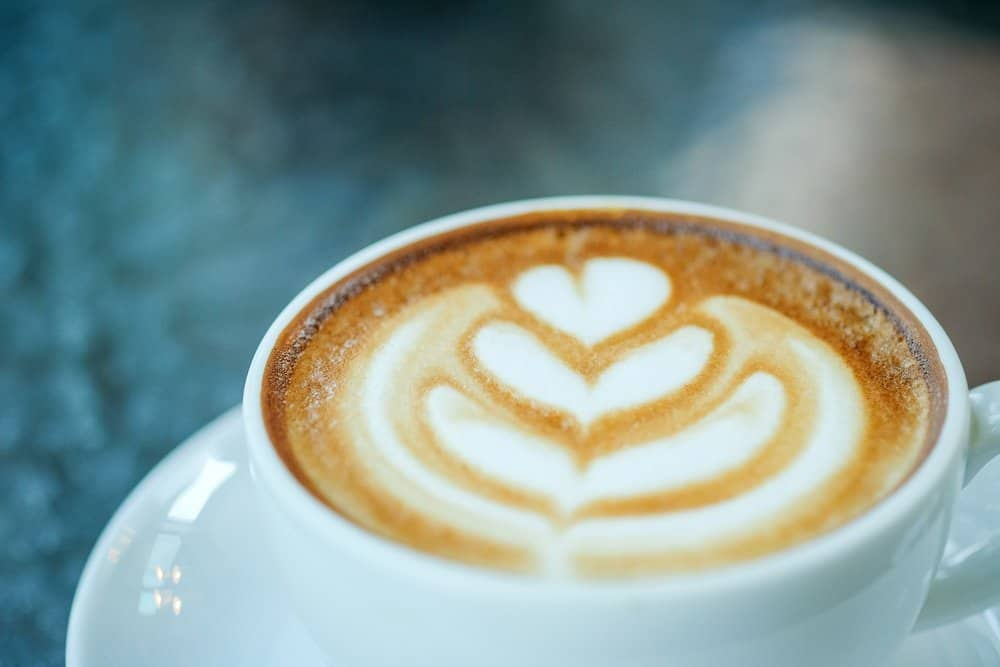 Coffee heart latte closeup. - Amazing Facts About Fitness
