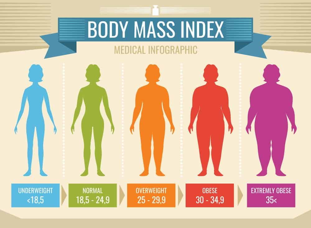 BMI of Woman body - medical infographic - obesity and overweight illustration - Body Mass Index (BMI) Accurate & Scientific Calculation Tools