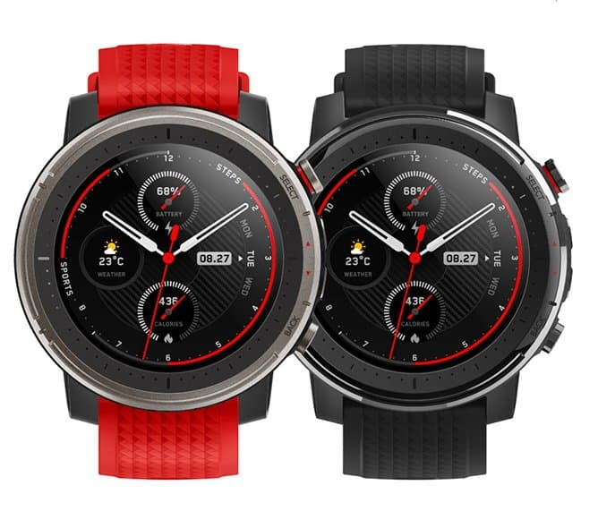 Amazfit Smart Sports Watch 3 is offered in 2 different variants