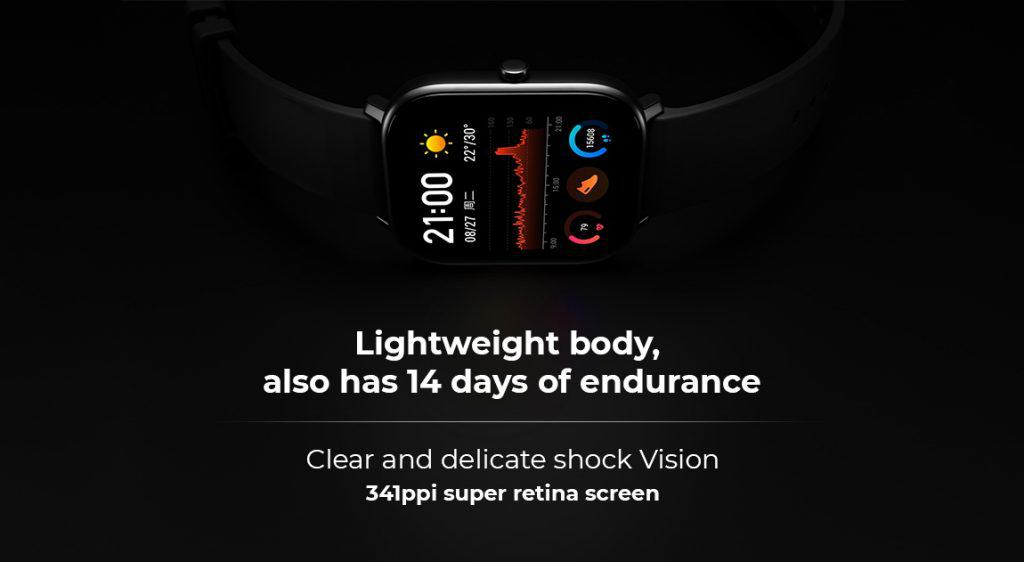 Huami Amazfit GTS smartwatch: Huami copies Apple watch in this new release of the new smartwatch 12