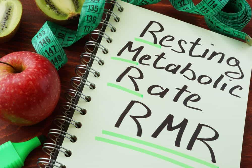Resting Metabolic Rate RMR Concept