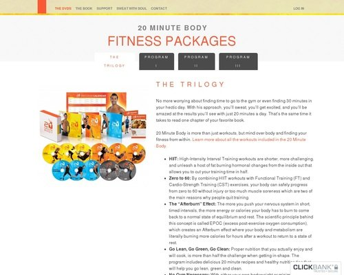 Fitness Packages | 20 Minute Body 1