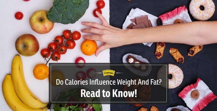 Do calories in food influence your weight and fat? Read to know the truth!