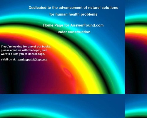 Welcome to AnswerFound.com 1