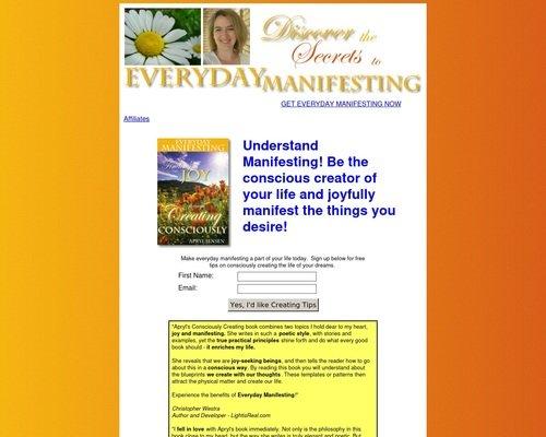 Everyday Manifesting - Manifesting Your Desires! 1