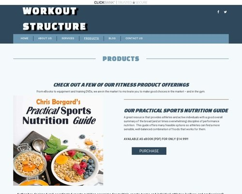 Products | Workout Structure 1