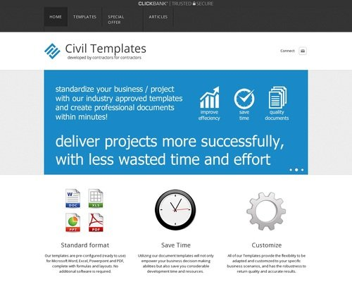 Template Store - Project Management Document Templates 1