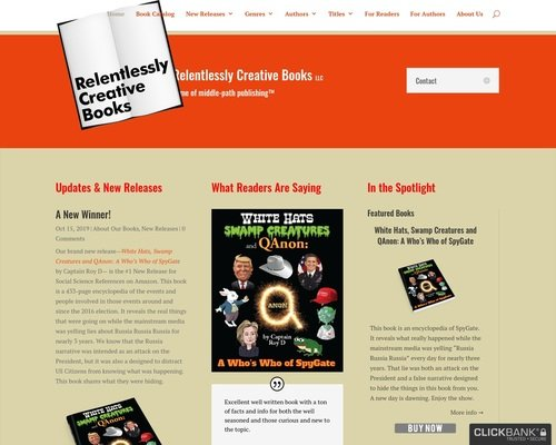 Relentlessly Creative Books 1