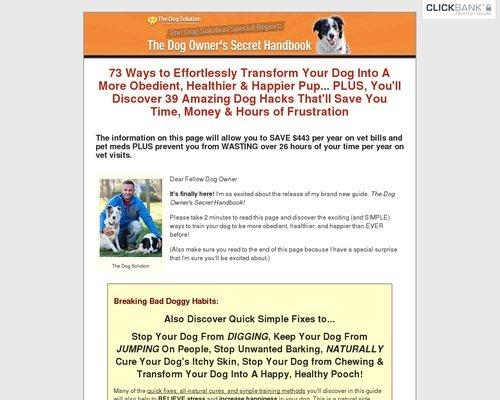 The Dog Owner's Secret Handbook 1