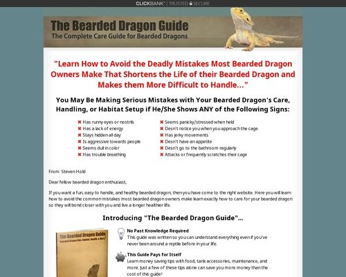 The Bearded Dragon Guide » How to Care for Bearded Dragons 1