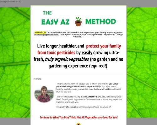 The Easy Az Method - View Mobile 1