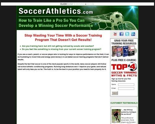 Soccer Training Program 1