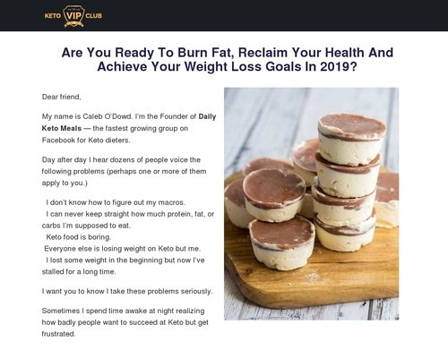 High Converting New Keto Diet Offer 1