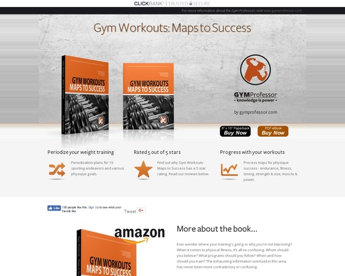 Gym Workouts: Maps to Success 1