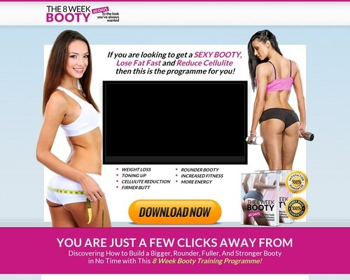 8week booty programme-Includes gym | home version fit all your needs 1