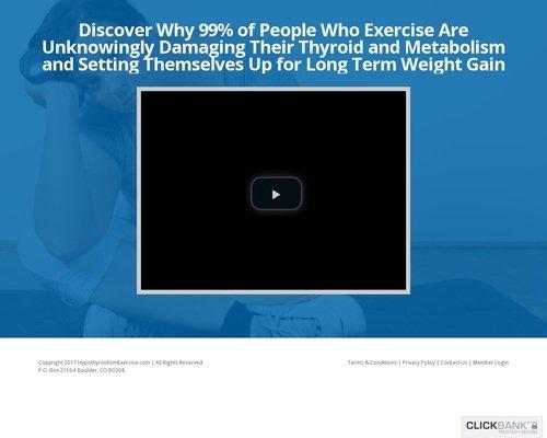 The Hypothyroidism Exercise Revolution 1