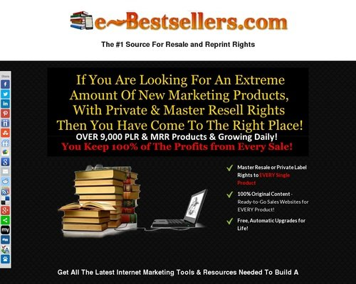 Turnkey Ebook Shop Business | Ready Made eBook Store | eBook Business for Sale 1