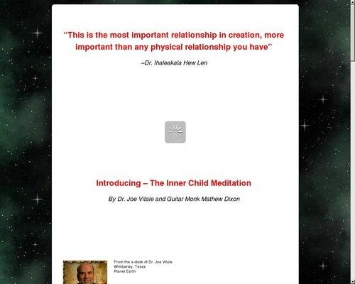 Dr. Joe Vitale's Inner Child Meditation 1