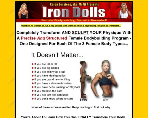 Female Bodybuilding Program to Transform Your Body 1