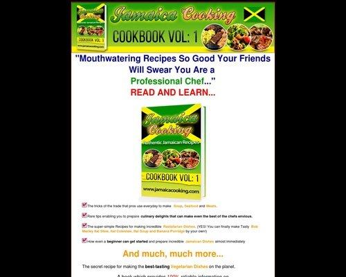 Jamaica Recipes Cookbook Vol-1 1