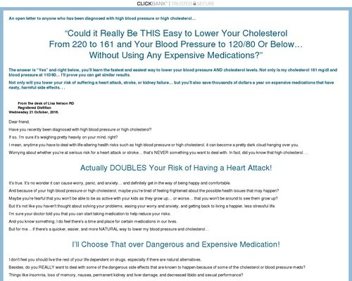 Heart Health Made Easy: How To Lower Blood Pressure & Cholesterol 1