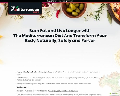(1) The Mediterranean Diet Plan 1