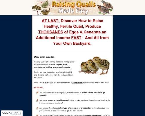 Raising Quails Made Easy - How To Raise Quails the Easy Way 1