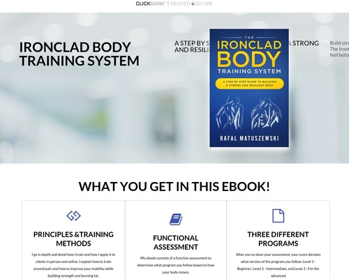 IronClad Body Training System – IronClad Body Training System 1