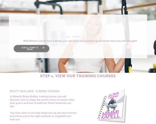 Mimmi Kapell Fitness - Helping people meet their fitness goals 1