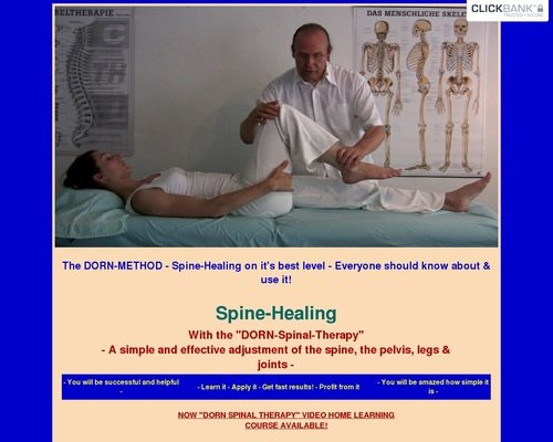 Spine-Healing with The DORN-Method 1