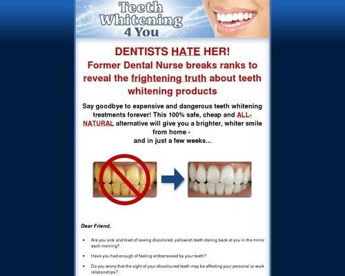 Teeth Whitening 4 You - How to Whiten Your Teeth Easily, Naturally & Forever! 1