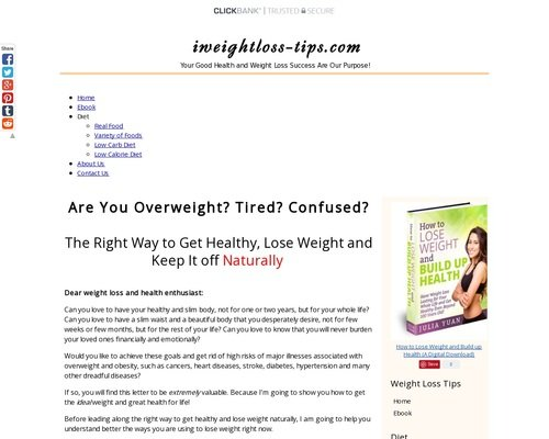 Best Weight Loss Books – Build up Your Healthy and Slim Body 1