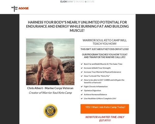 Keto Camp: Scientifically Backed Fat Loss and Muscle Building Program 1