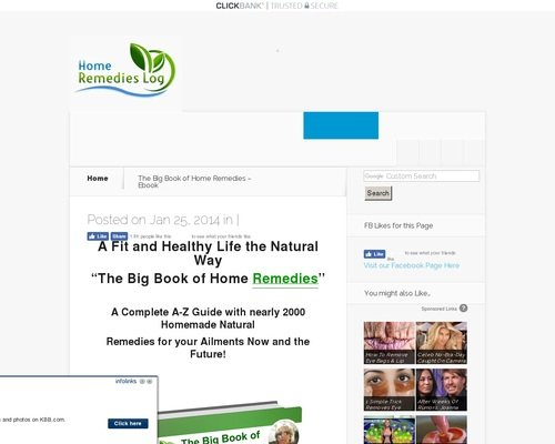 The Big Book of Home Remedies - Ebook 1